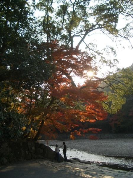 五十鈴川も雰囲気があって素敵です!