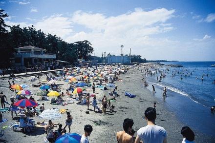 二見浦海水浴場!