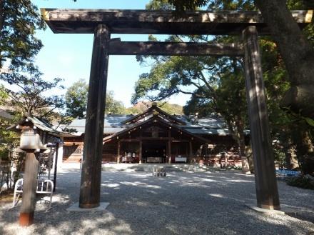 みちびらきで有名な猿田彦神社